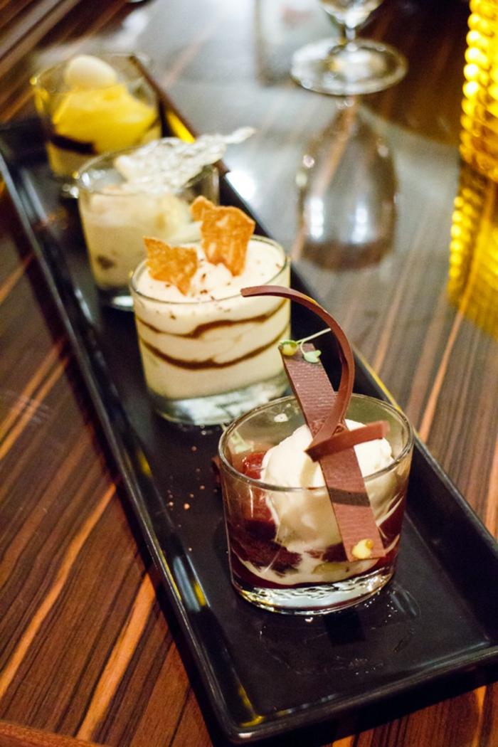 Assiette dessert gourmande idée décoration dessert