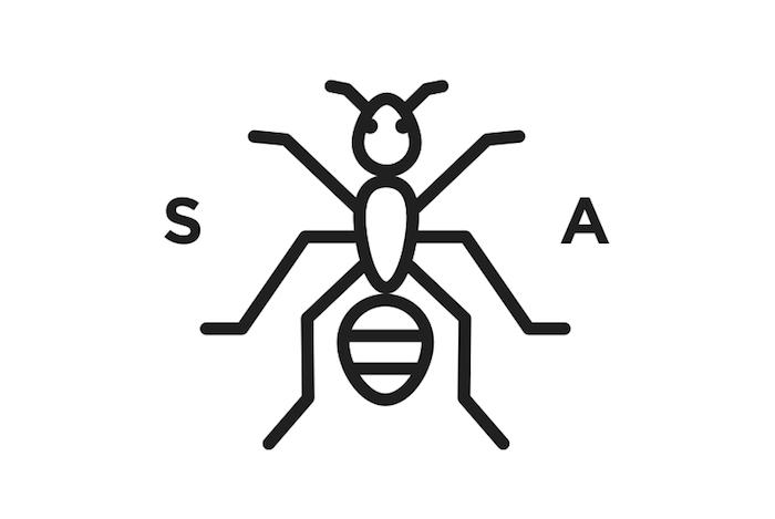 logo sugar ants croatie zegreb brand