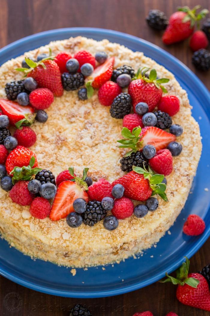 3 recettes de g teau aux fruits irr sistibles pour charmer vos invit s - Gateau anniversaire rapide ...