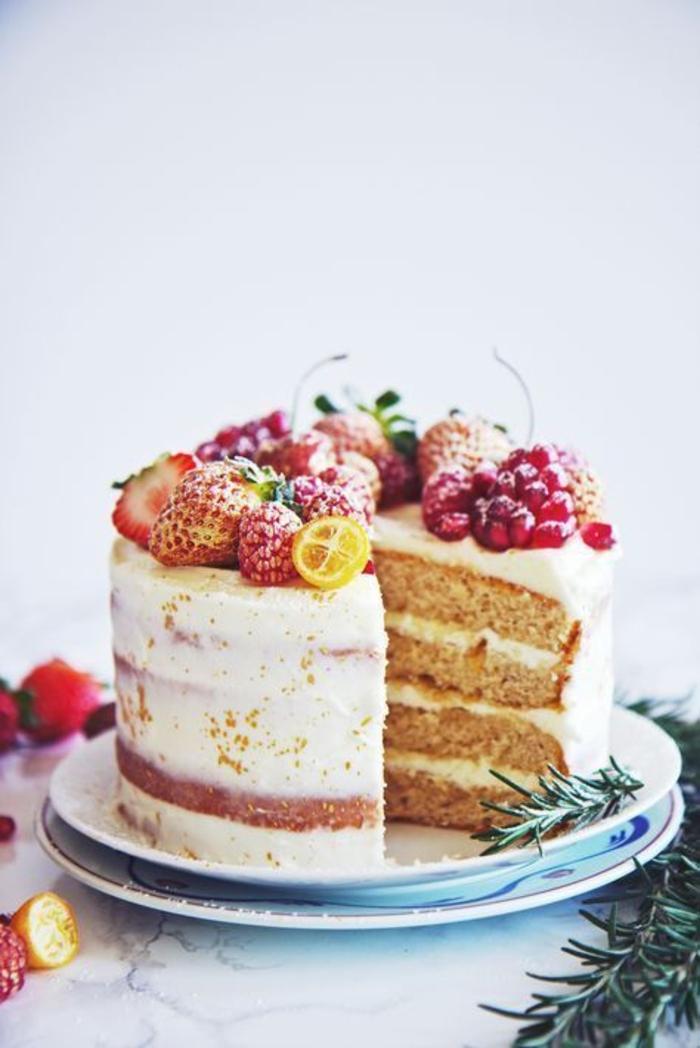 Admirable gâteau aux fruits recette tutti frutti exquis