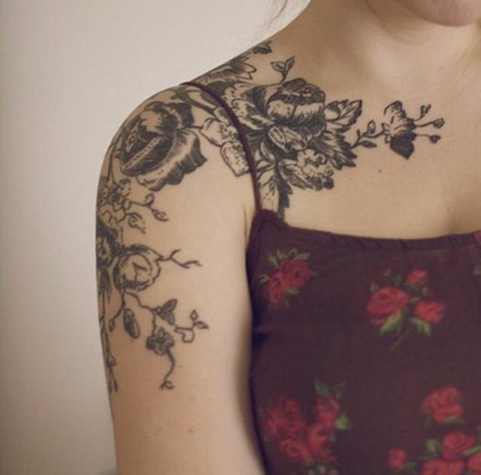 1001 Idees De Tatouage De Fleur Et Quelle Est Sa Signification