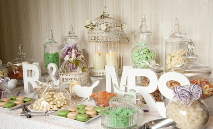 1001 Astuces Et Ides Pour Organiser Un Candy Bar Mariage