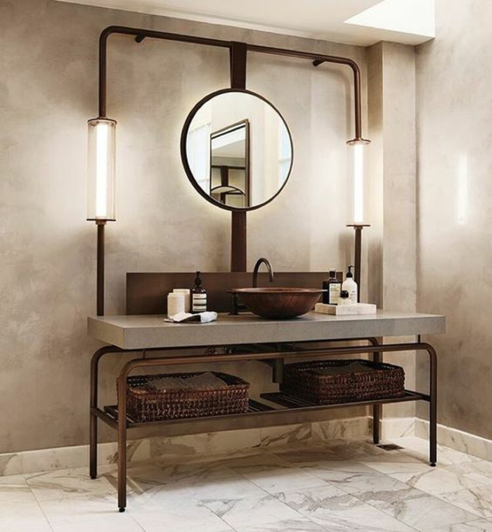 1001 id es pour un miroir salle de bain lumineux les ambiances styl es. Black Bedroom Furniture Sets. Home Design Ideas