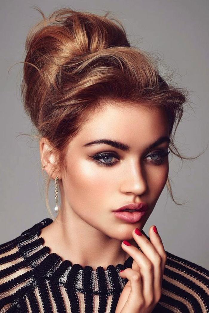 1001 id es chic de look ann es 60 - Maquillage annee 60 ...