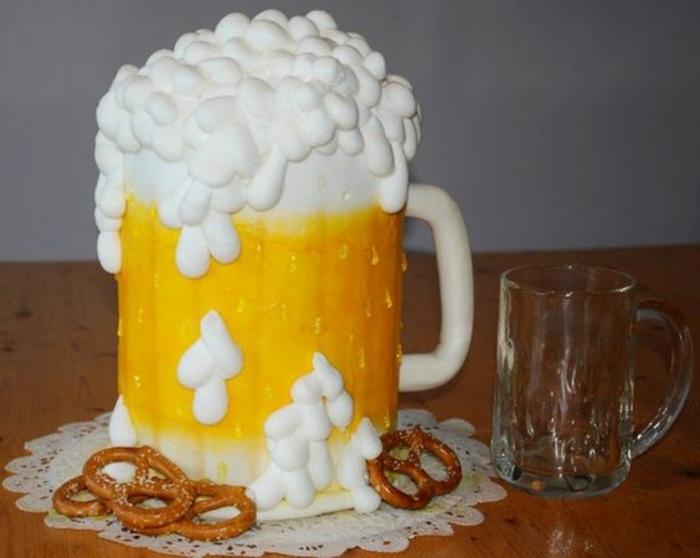 Idee gateau anniversaire biere allemagne cool idée