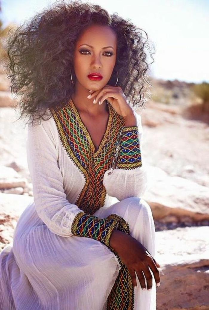 1001 exemples de couture africaine chic de nos jours for Robes de mariage pour la plage