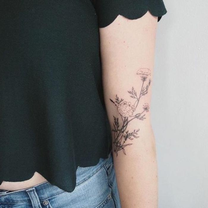 Tatouage signifiant la famille tattoo phrase famille double tatouage phrase francais galerie - Signification fleurs tatouage ...
