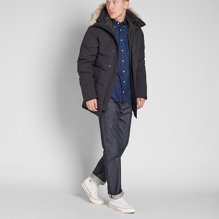 parka homme hiver Carson par Canada Goose veste matelassée doudoune