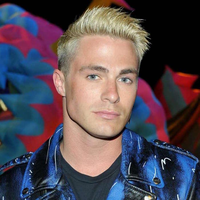 teinture blonde pour homme look année 90