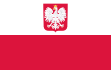 drapeau pologne plny varsovie