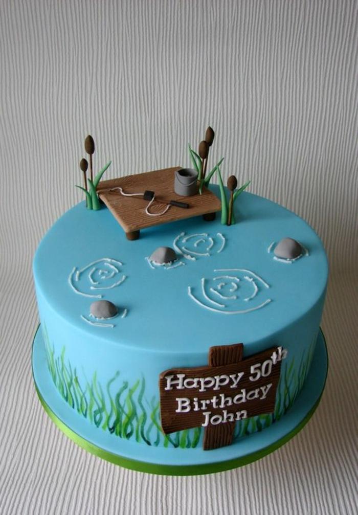 Photo dessert pour anniversaire gateau anniversaire original facile peche