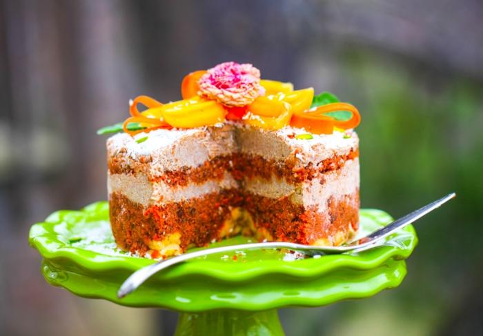 Idée gateau fruit recette gâteau aux fruits délicieux