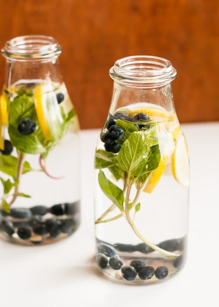 eau vitaminée riche en antioxydants et au goût frais