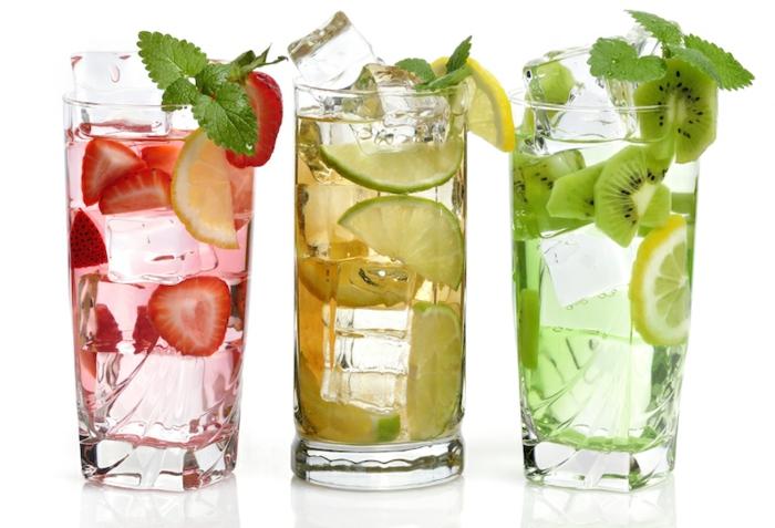 recette détox pour une eau vitaminée rafraîchissante