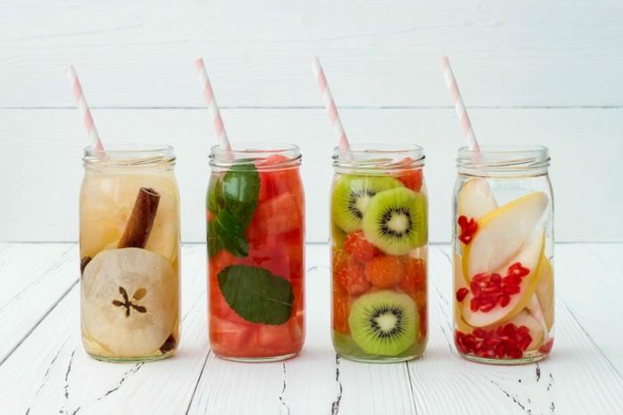 recettes minceur pour une eau detox fruitée et vitaminée