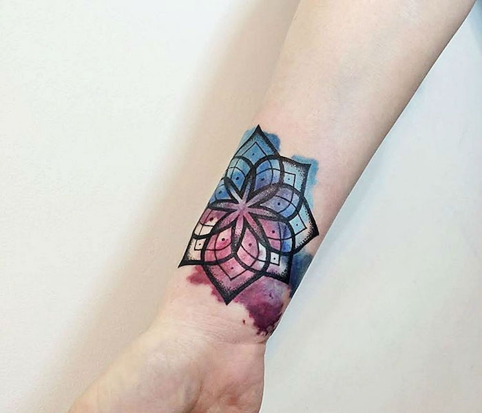 1001 Idees Tatouage Mandala Bien Plus Qu Un Simple Tattoo