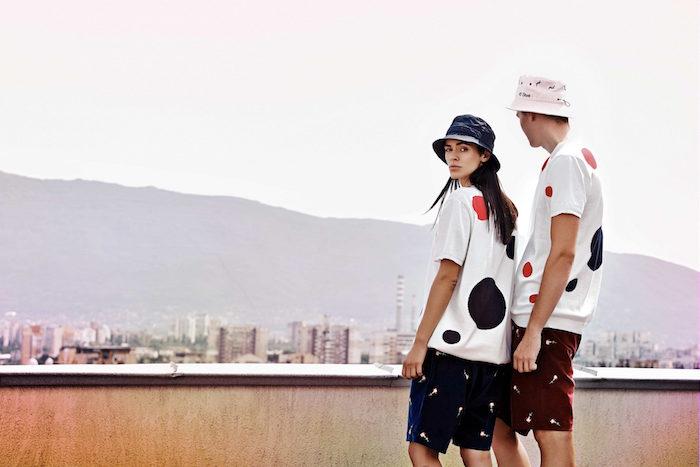dots t-shirt carnations short storks bucket hat ss17 45 street