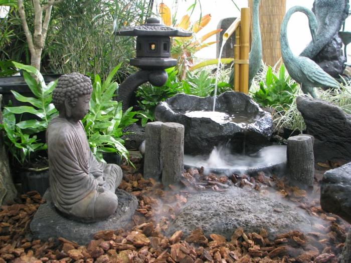 1001 conseils pratiques pour une d co de jardin zen for Fontaine exterieur zen