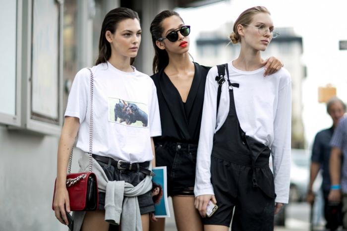tenue classe femme tendance salopette moderne