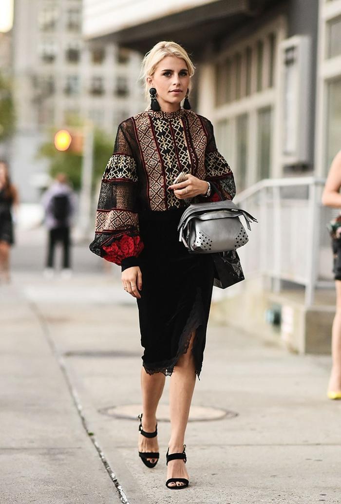 tenue stylée femme beauté nyfw