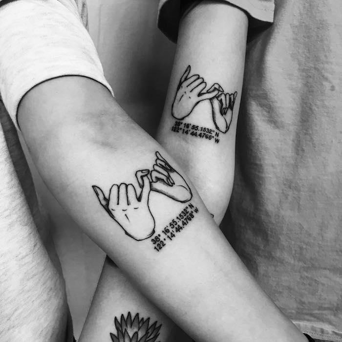 ▷ 1001+ idées | tatouage amitié – les potes dans la peau
