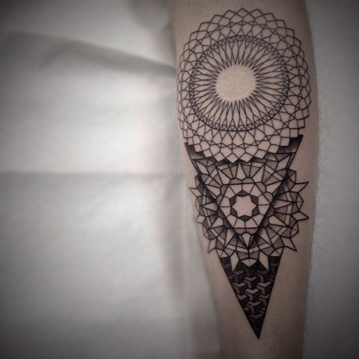 1001 Idees Tatouage Mandala Bien Plus Qu Un Simple Tattoo