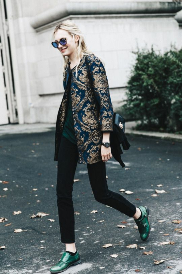 idée de style vestimentaire femme manteau chic