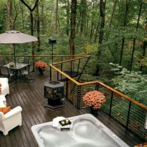 Design et construction d'une terrasse surélevée. Plusieurs conseils et idées pratiques