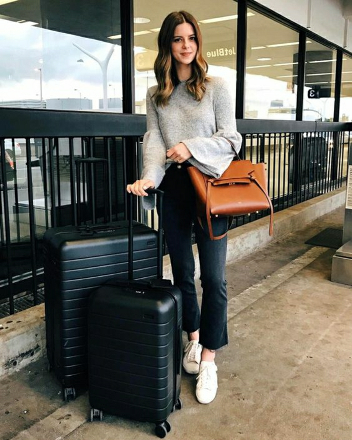 Voyage long courrier tenue pour l avion vol cool