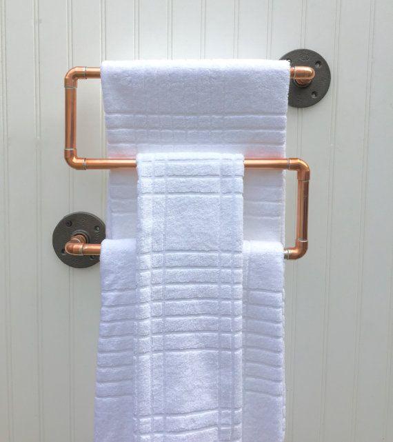 idée déco originale salle de bain pour rénovation et agencement porte serviettes diy corde style marin