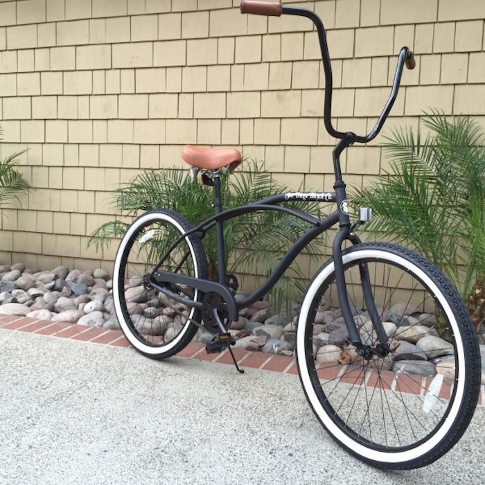 californien velo chopper grand guidon style bike américain beach