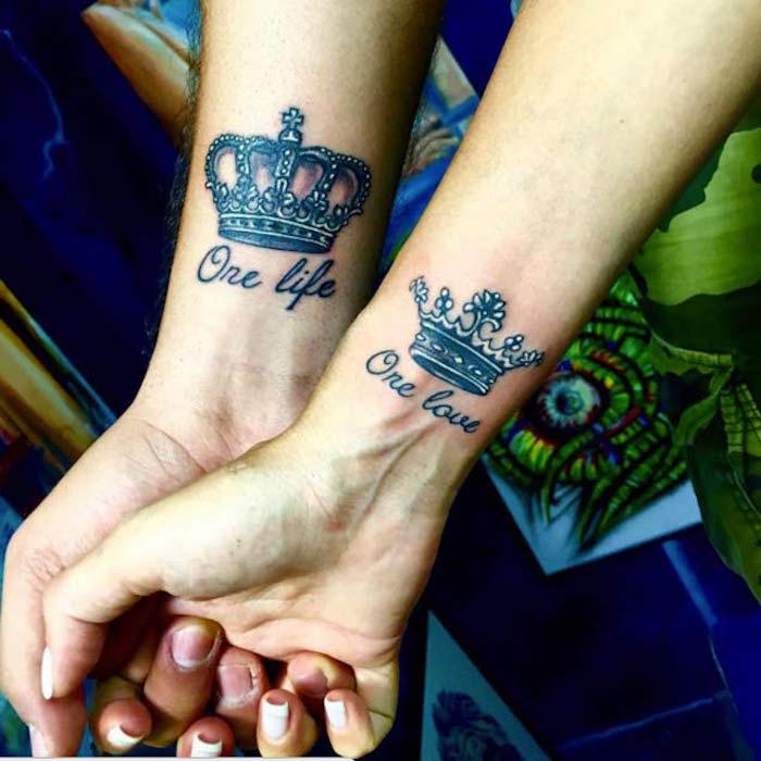 Très ▷ 1001 + idées | Tatouage Amour éternel – jusqu'à l'infini et au-delà AE86