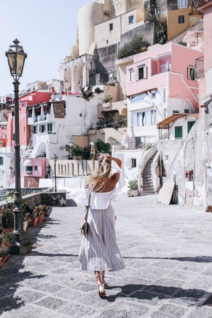 Look bohème chic robe boheme voir comment créer vacances look
