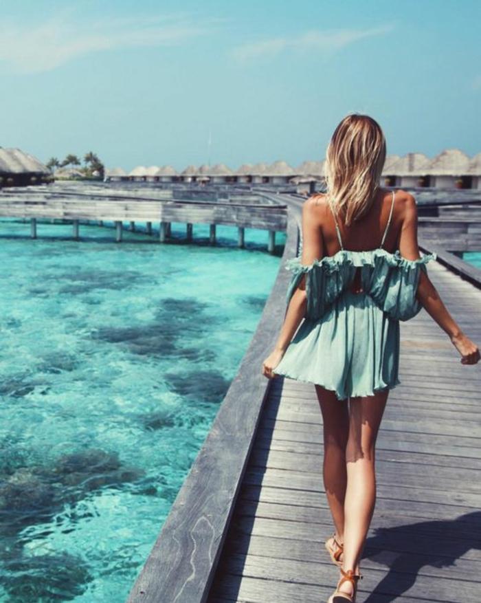 Tenue champetre femme style hippie tenue chic Bali tenue