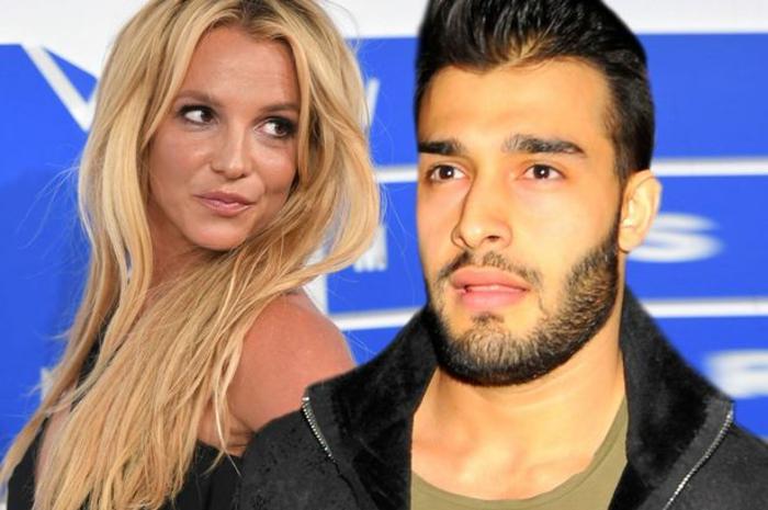 la star de la scène pop britney spears et son petit ami sam asghari