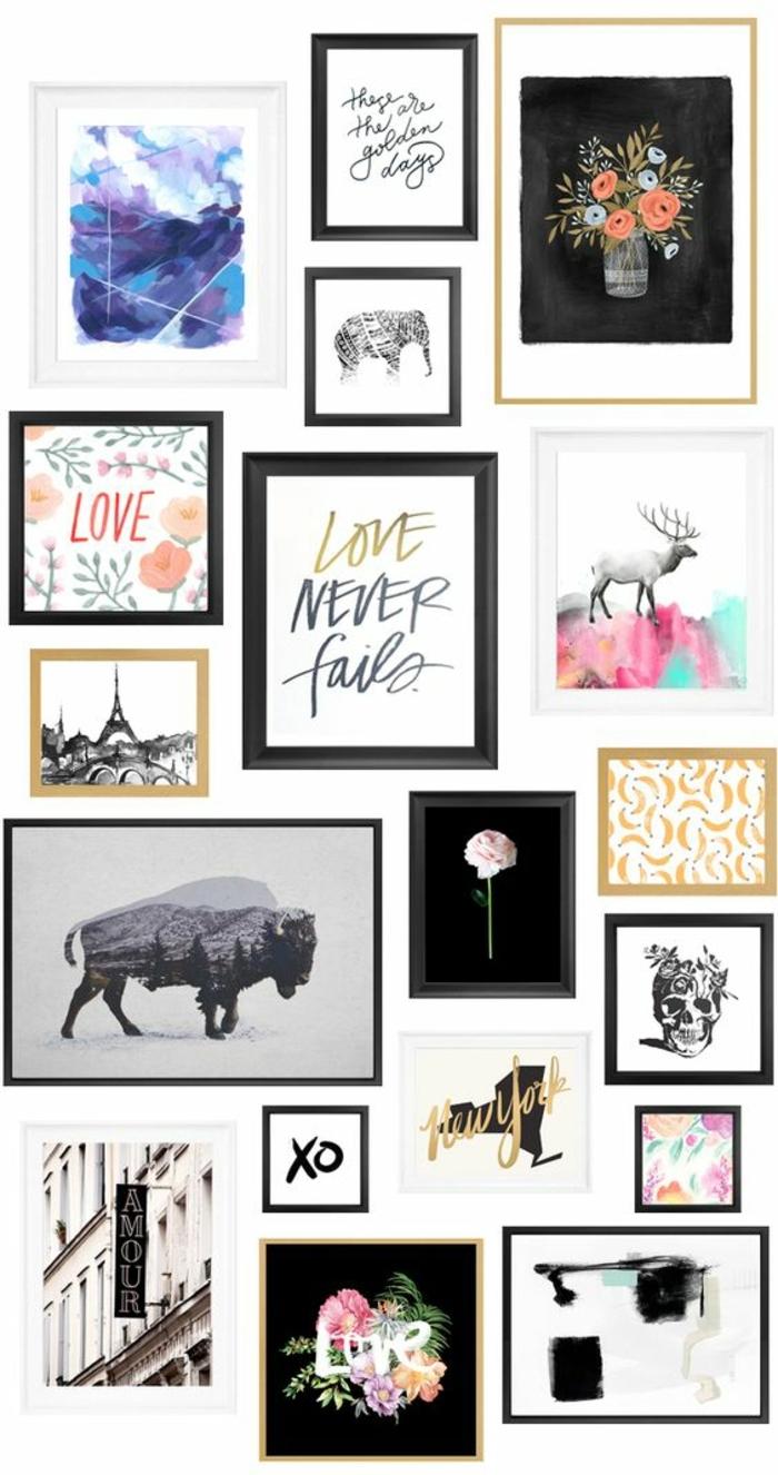 cadre pour photo noir et blanc type pour les photos en x. Black Bedroom Furniture Sets. Home Design Ideas