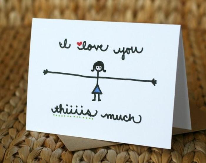 carte fête des mères, carte astuciese à faire facilement pour les plus petits