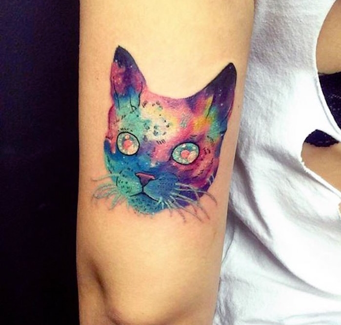 1001 Idees 40 Idees De Tatouage Chat Matez Le Matou