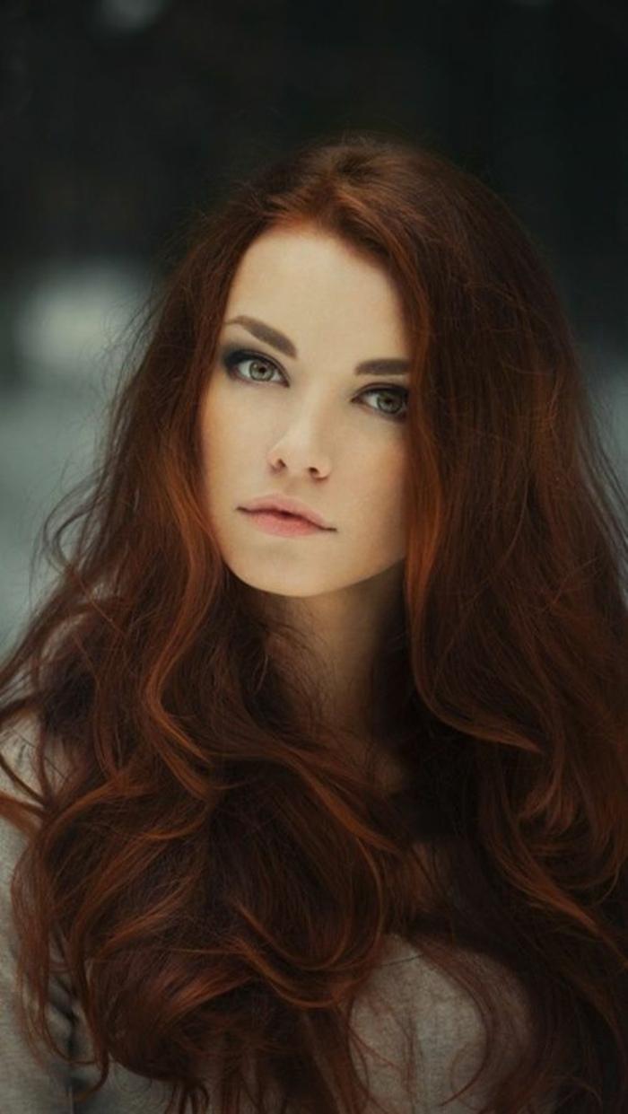 ▷ 1001 idées pour obtenir la couleur de cheveux rouge bordeaux