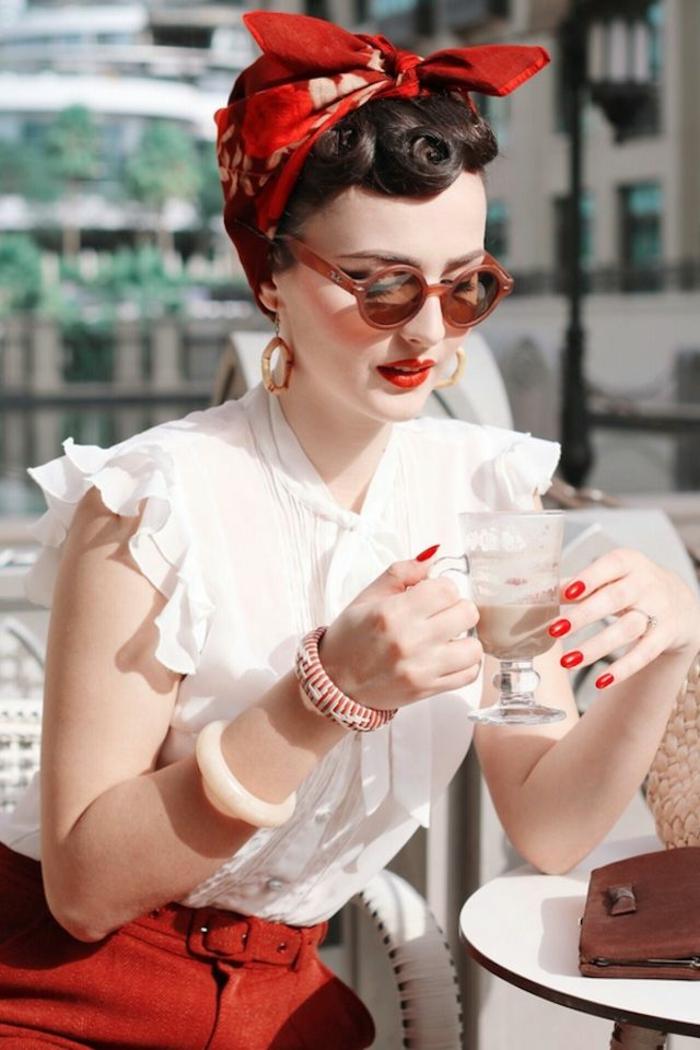 La robe vintage année 60 comment etre une femme stylée