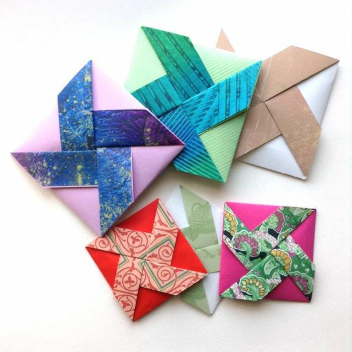 Анимации, красивые открытки с оригами