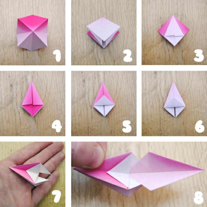 Comment Faire Des Origami Facile