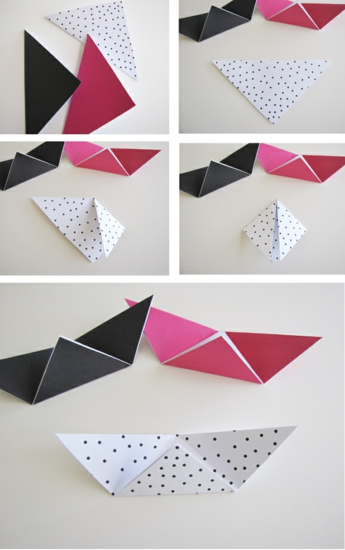 1001 id es originales comment faire des origami facile - Origami facile en video ...