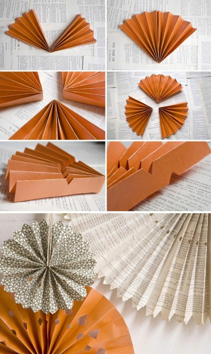 étapes à suivre pour réaliser un moulin à vent papier rosace, activité manuelle avec pliage du papier
