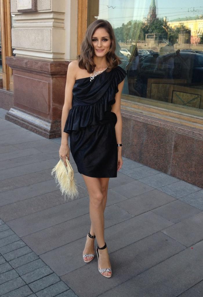 Voir les tenues de fetes femme cool idée quoi porter Olivia Palermo