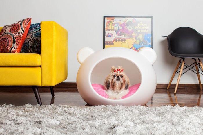 1001 id es 41 id es et un tuto pour fabriquer un panier pour chien. Black Bedroom Furniture Sets. Home Design Ideas