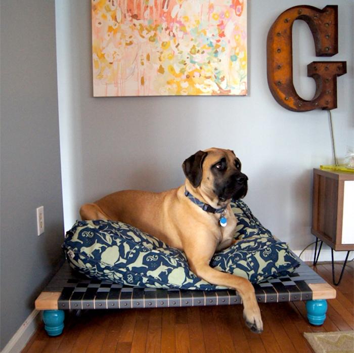 panier a chien en palette interesting plan niche chien with panier a chien en palette gallery. Black Bedroom Furniture Sets. Home Design Ideas