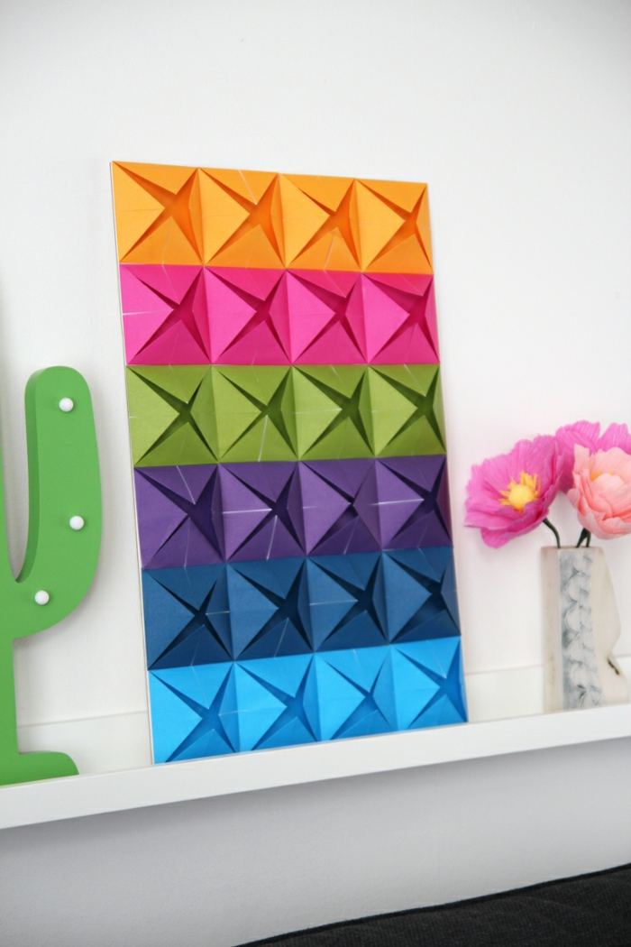 1001 id es originales comment faire des origami facile - Creation papier crepon facile ...