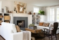 Le salon rustique – conseils et 80 photos pour aménager un nid douillet qui respire le charme naturel