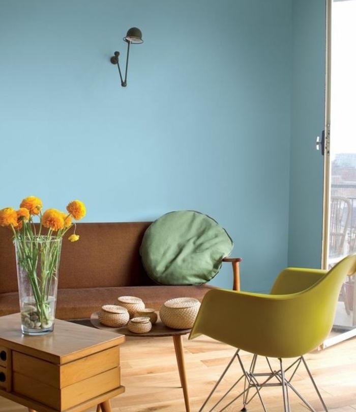 Salon Scandinave Jaune : Idées créer une déco en bleu et jaune conviviale